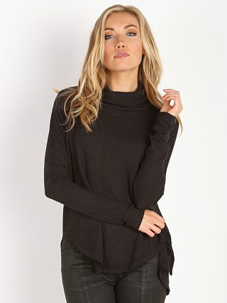 Free People Drippy Thermal Kristina Thermal Black