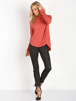 Free People Drippy Thermal Kristina Thermal Cayenne