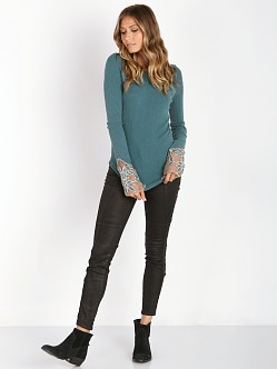 Free People Newbie Thermal Bali Babe Cuff Jade