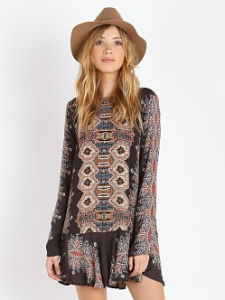 Free People Slubby Crinkle Smooth Talker Top Night Combo