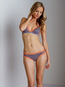Cosabella Giulietta Low Rise Thong Rock/Persimmon