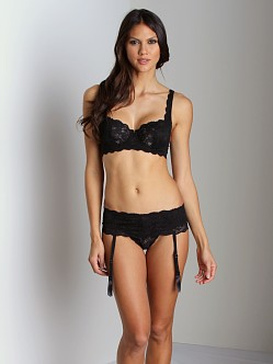 Cosabella Never Say Never Garter Black