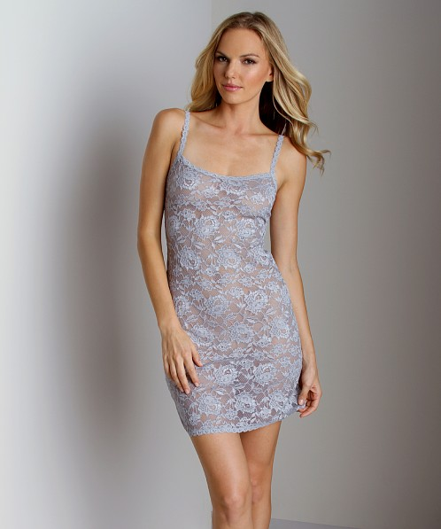 Cosabella Never Say Never Foxie Chemise Dove Grey