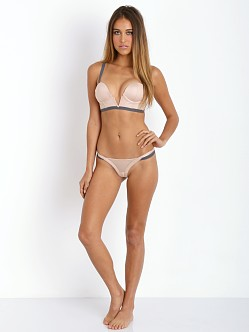 Beach Bunny Love Haus Bounded Thong Nude