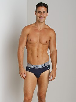 2xist Athletic Contour Pouch Brief Navy