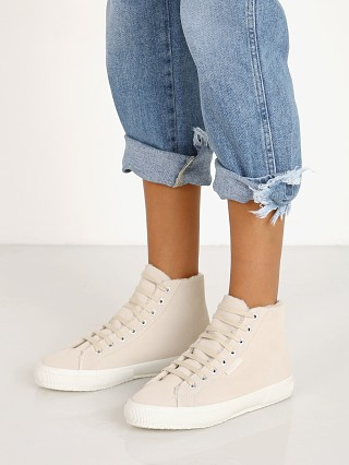 Complete the look: Superga 2795 Sherpa Lined High Top Sneaker Cafe Noir