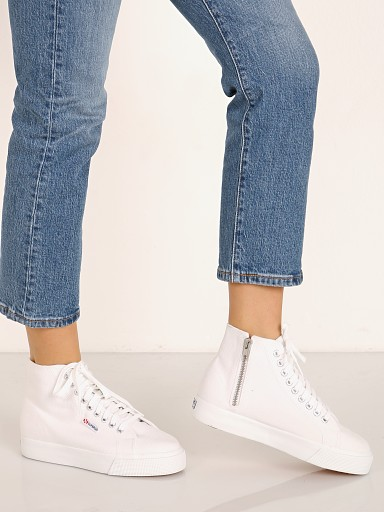 Superga 2422 COTW High Top Sneaker White
