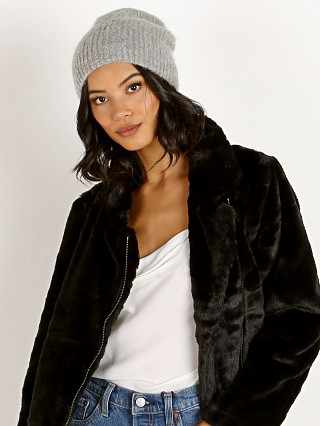 Complete the look: Janessa Leone Piper Beanie Light Grey