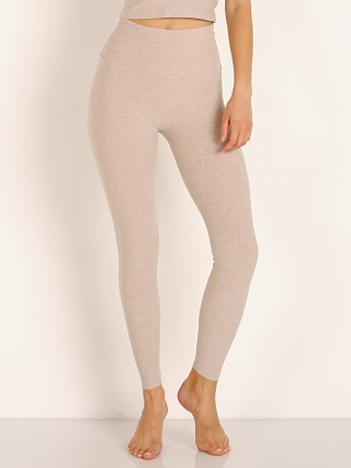Beyond Yoga Spacedye Midi High Waisted Legging Sand Swept
