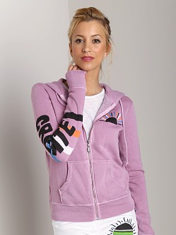 Day By Day Zip Up Hoodie Purple