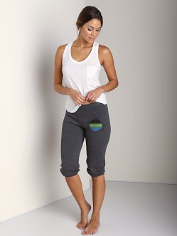 Day By Day Elastic Capri Pant Black