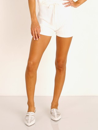 Rue Stiic Evy Knit Short White