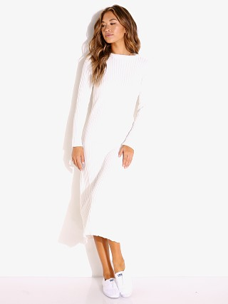 Rue Stiic Frankie Knit Dress White