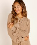 Spiritual Gangster Cozy Melody Sweater Camel, view 2