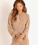 Spiritual Gangster Cozy Melody Sweater Camel, view 3