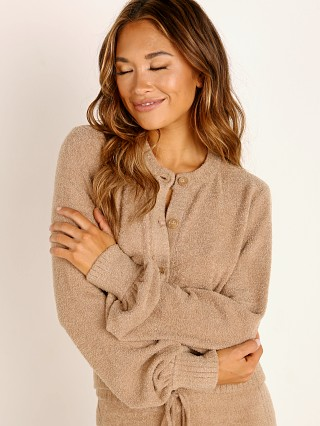 Spiritual Gangster Cozy Melody Sweater Camel