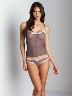 Only Hearts Tulle With Lace Camisole Zinc/Bone