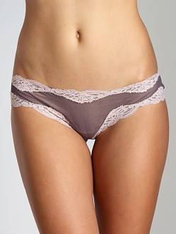 Only Hearts Tulle With Lace Brazilian Bikini Zinc/Bone