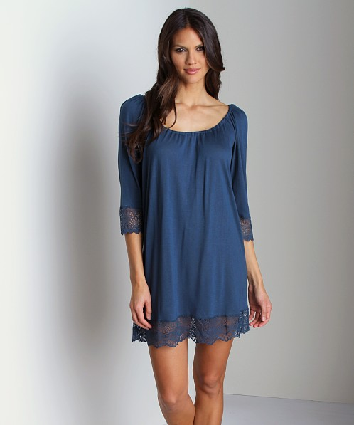 Only Hearts Venice Night Dress Teal