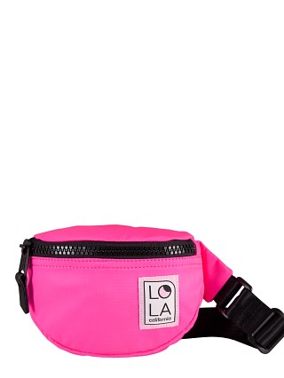 LOLA Moonbeam Bum Bag Laser Pink