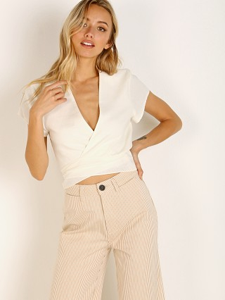 You may also like: Rollas Delilah S/S Linen Blouse Cream