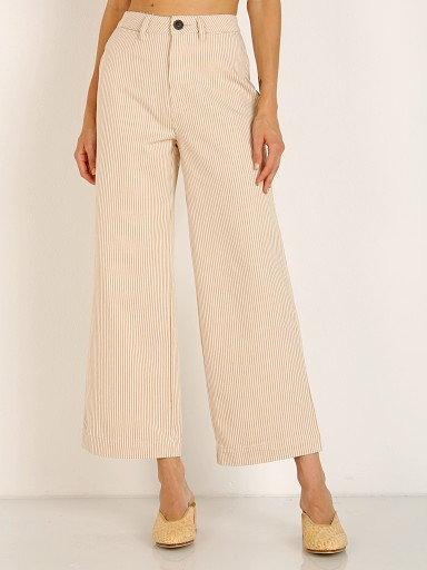 Rollas Old Mate Pant Gold Stripe