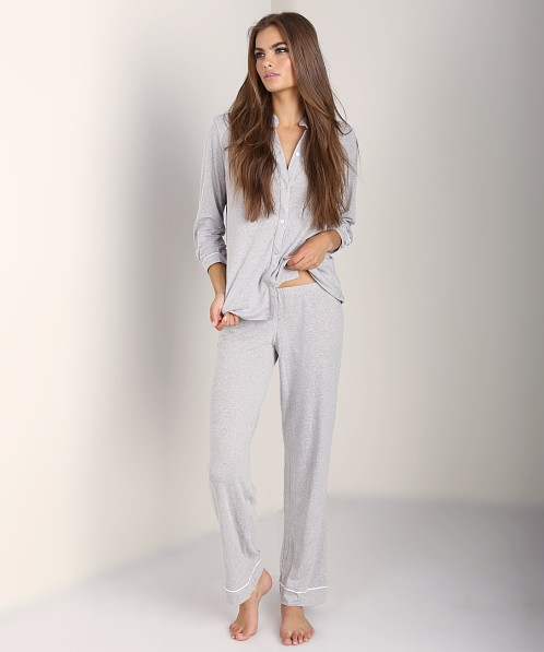 Eberjey Sleep PJ Pant Vintage Grey