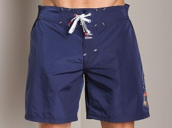 Diesel Kick Long Boxer Navy