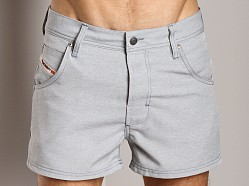 Diesel Shark Swim Shorts Grey