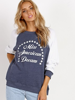 WILDFOX Miss American Dream Summer Sweater Midnight