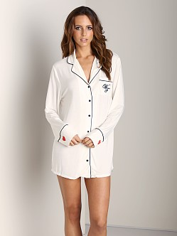 WILDFOX Sleepshirt I Love Sleep/Wildfox Vanilla