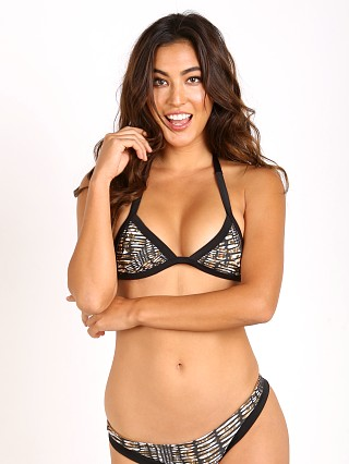 Issa de' Mar Piper Bikini Top Pebble/Black