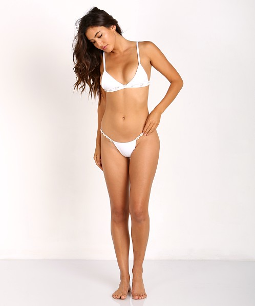 bc5b5e12f817d Kaohs Rie Bikini Bottom White K415B - Free Shipping at Largo Drive