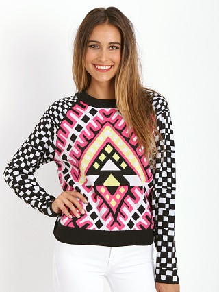Mara Hoffman Pullover Sweater Checkers