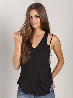 Free People Miami Tank Black