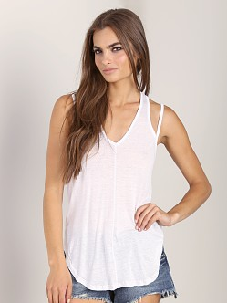 Free People Miami Tank White