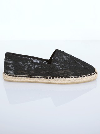 Soludos Original Espadrille Chantilly Lace Black