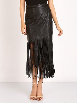 Nightwalker Saloon Skirt Black