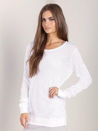 You may also like: LACAUSA Classic Pullover White