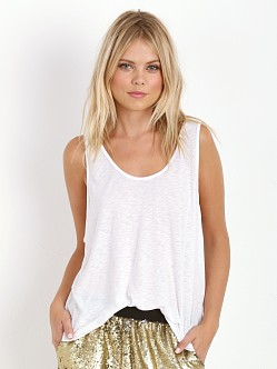 LACAUSA Swing Tank White
