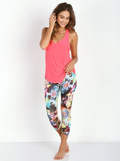 Onzie Glossy Flow Tank Neon Rose