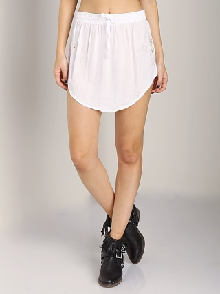 One Teaspoon Jesse Jean Skirt White
