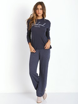 WILDFOX Brighton Beach 90s PE Sweats Oxford