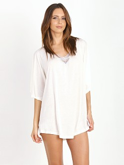 Eberjey Joey Tunic Chalk