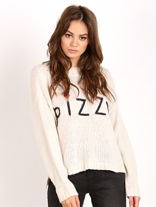 WILDFOX Simply Pizza Vineyard Sweater Pout