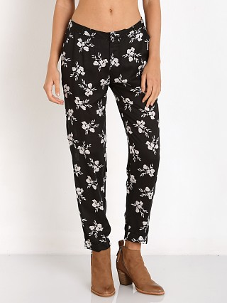 Amuse Society Helm Pant Black Sands Floral