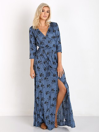Amuse Society Wildflower Dress French Blue