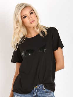 Amuse Society WY Glimpse Tee Black Sands