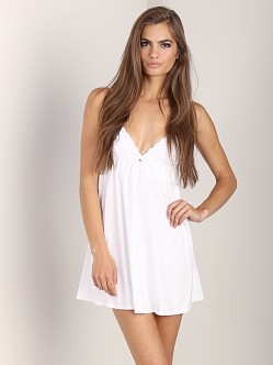 Juicy Couture Modal Eyelet Nightie White