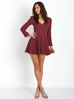 Lovers + Friends Shimmy Dress Scarlet